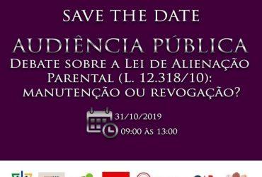 Dra Sandra foi convidada para participar de audiência Pública no dia 31.10.2019