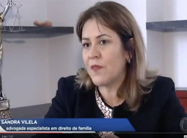 Dra Sandra Vilela em entrevista ao programa Hoje em Dia