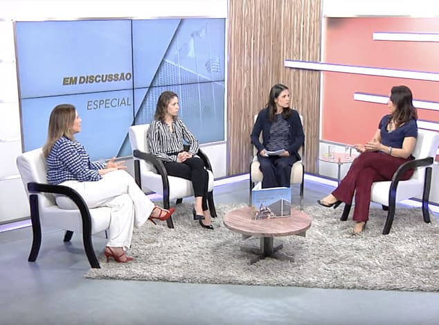Entrevista para o programa Em Discussão
