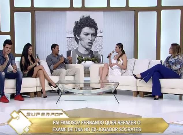 Dra Sandra Vilela em entrevista ao programa Super Pop